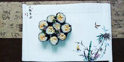 第一次学做寿司, ..