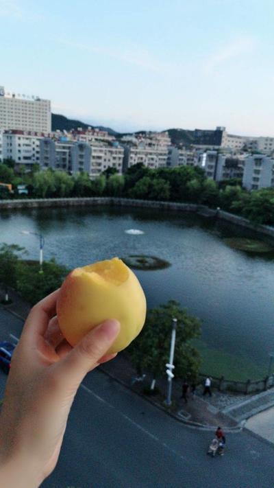 我不想吃桃子了, ..
